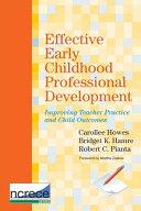 Effective Early Childhood Professional Development