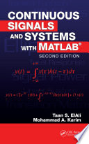 Continuous Signals and Systems with MATLAB  Second Edition