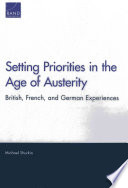 Setting Priorities in the Age of Austerity