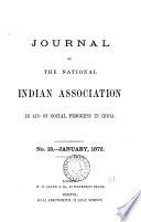 Journal [afterw.] The Indian magazine (and review).