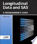 Ebook Longitudinal Data and SAS Epub Ron Cody Apps Read Mobile