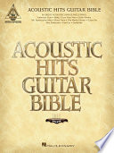 Acoustic Hits Guitar Bible  Songbook