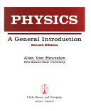 Physics  a general introduction