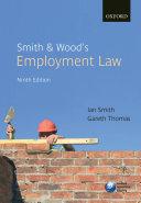 Smith & Thomas' Employment Law, 9th Ed.