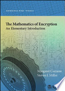 The Mathematics of Encryption  An Elementary Introduction