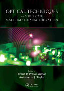 Optical Techniques for Solid State Materials Characterization