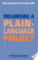 Organising a Plain language Project