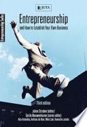 Entrepreneurship & How to Establish Your Own Business
