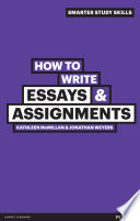 How to Write Essays   Assignments