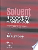 Solvent Recovery Handbook