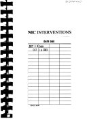 Nic Interventions Linked To Noc Outcomes