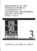 Proceedings of the Seventh European Conference on Earthquake Engineering