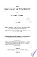 On the suppression of mendicancy in the metropolis  speech