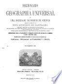Diccionario de geographia universal  por uma sociedade de homens de sciencia