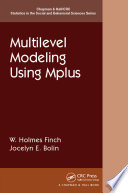 Multilevel Modeling Using Mplus
