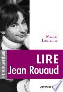 Lire Jean Rouaud
