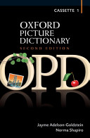 Oxford Picture Dictionary Second Edition  Class Cassettes 1 4