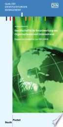 Gesellschaftliche Verantwortung von Organisationen und Unternehmen