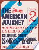 American Journey  The  Volume 2