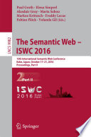 The Semantic Web – ISWC 2016