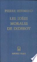 Les idées morales de Diderot