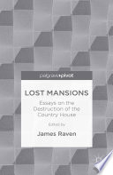 Lost Mansions