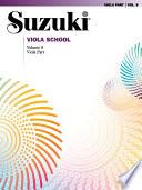 Suzuki Viola School   Volume 8