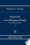 Themenbereich C Theorie Und Forschung Entwicklungspsychologie Angewandte Entwicklungspsychologie