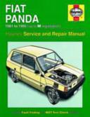 Fiat Panda Owner S Workshop Manual