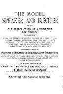 The Model Speaker and Reciter