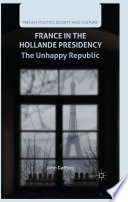 France in the Hollande Presidency