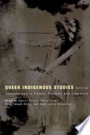 Queer Indigenous Studies