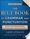 The Blue Book of Grammar and Punctuation