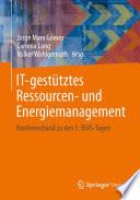 IT-gestütztes Ressourcen- und Energiemanagement