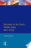 Germany In The Early Middle Ages C 800 1056 book