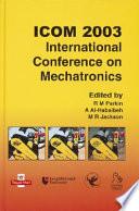 ICOM 2003 - International Conference on Mechatronics
