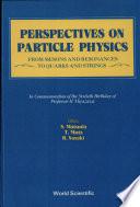 Perspectives On Particle Physics book