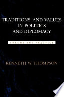 Traditions and Values in Politics and Diplomacy