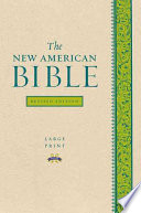 The New American Bible Revised Edition  Large Print Edition