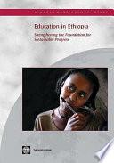 illustration Education in Ethiopia, Strengthening the Foundation for Sustainable Progress