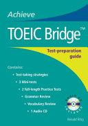 Achieve Toeic Bridge Bre