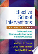 Effective School Interventions  Third Edition