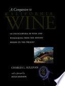 A Companion to California Wine