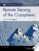 Remote Sensing of the Cryosphere Is Temporarily Or Permanently Frozen Plays A Crucial