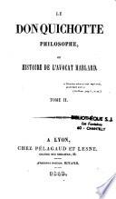 Le Don Quichotte philosophe ou histoire de l'avocat Hablard