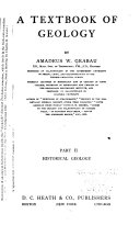 A Textbook Of Geology Historical Geology