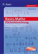 Basics Mathe: Flächenberechnung