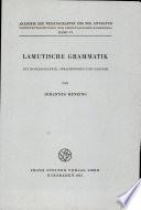 Lamutische Grammatik