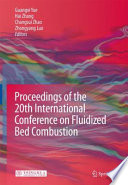 Proceedings Of The 20th International Conference On Fluidized Bed Combustion book