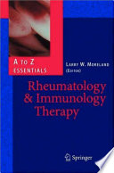 Rheumatology And Immunology Therapy book